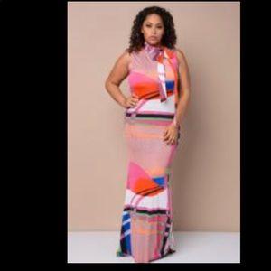 Summer PLUS Maxi Dress